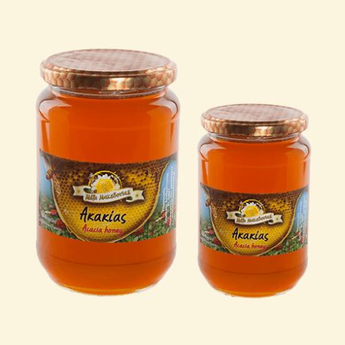Μέλι Ακακίας. Φρέσκο Ελληνικό μέλι παραγωγής μας.