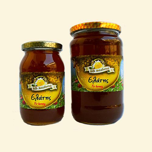 Μέλι από έλατο. Φρέσκο Ελληνικό μέλι παραγωγής μας.