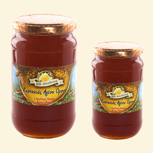 Μέλι καστανιάς Αγίου Όρους. Φρέσκο Ελληνικό μέλι παραγωγής μας.