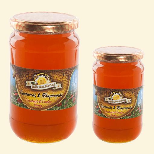 Μέλι Καστανιάς με Φλαμούρι. Φρέσκο Ελληνικό μέλι παραγωγής μας.