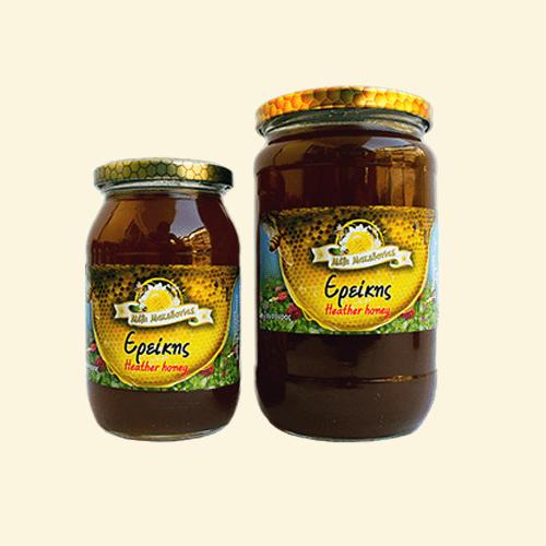 Μέλι Ρείκι ή Ερείκης. Γνήσιο Φρέσκο Ελληνικό μέλι παραγωγής μας.