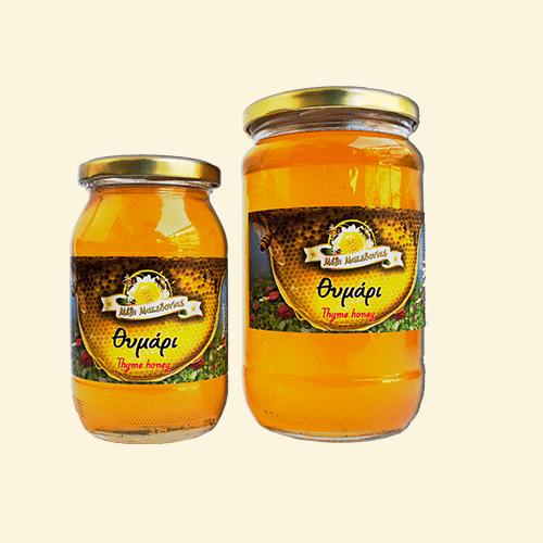 Μέλι θυμαρίσιο. Φρέσκο Ελληνικό μέλι παραγωγής μας.