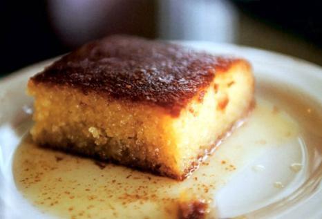 Σάμαλι με μαστίχα και μέλι, νηστίσιμο